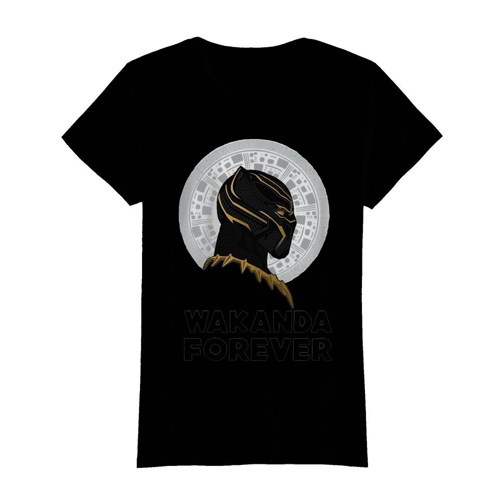 Black Panther Wakanda Forever Thank You For The Memories Signature  Classic Women's T-shirt