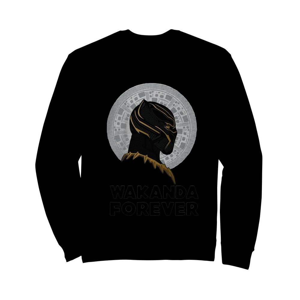 Black Panther Wakanda Forever Thank You For The Memories Signature  Unisex Sweatshirt