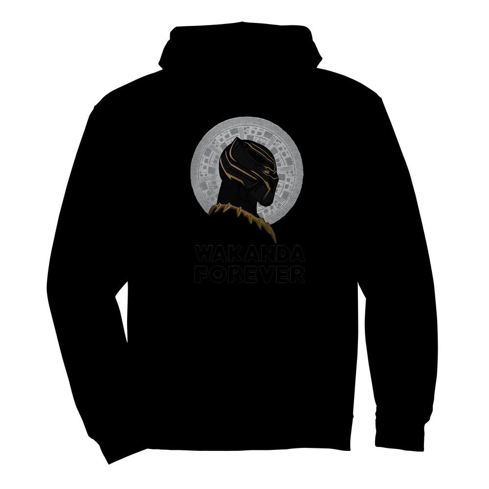 Black Panther Wakanda Forever Thank You For The Memories Signature  Unisex Hoodie